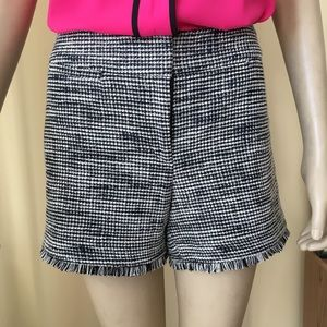 ANN TAYLOR FACTORY Signature Fit Tweed Shorts, 6